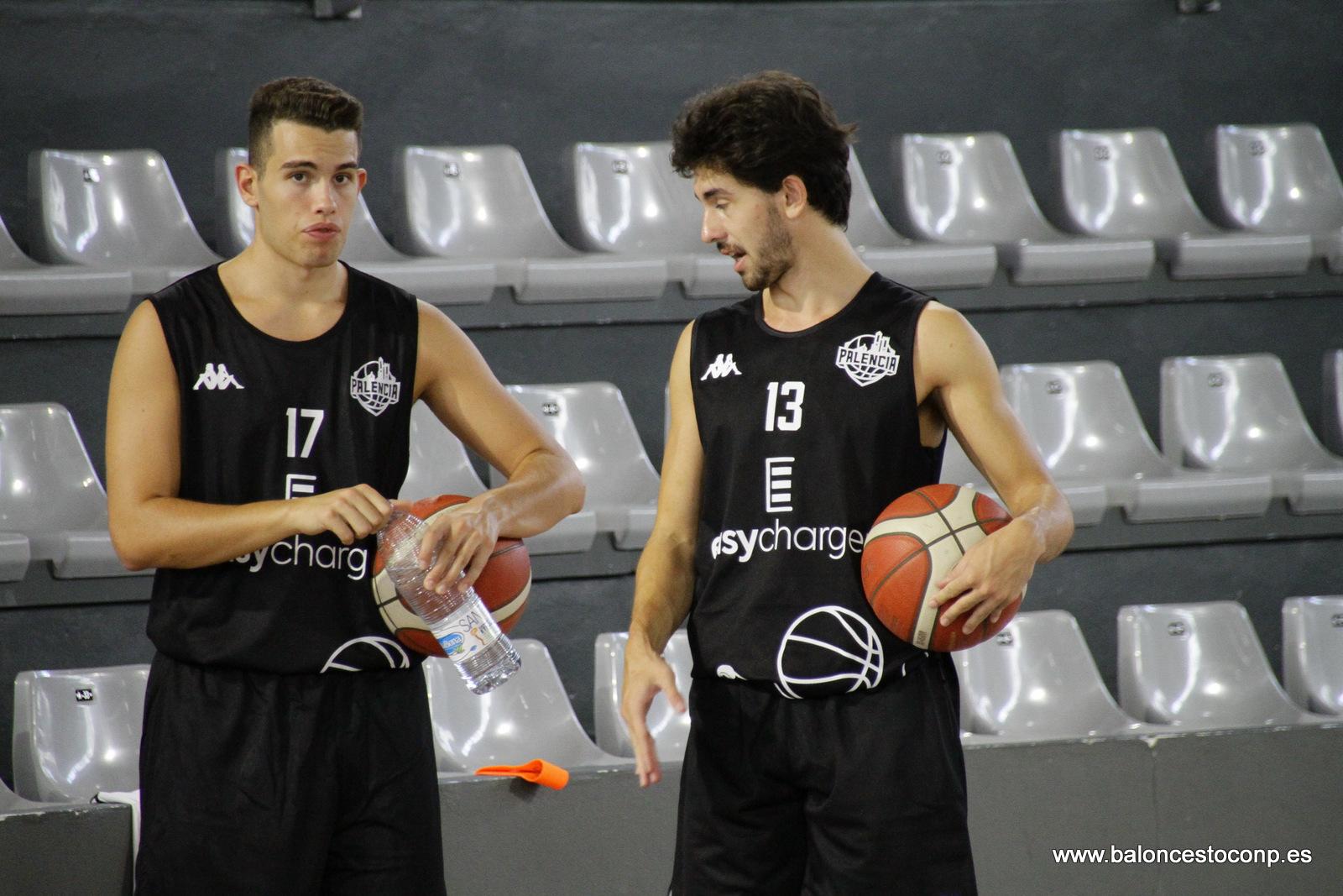 Froufe y Queralt-Lorzing, dos de los jugadores vinculados a Baloncesto Venta de Baños