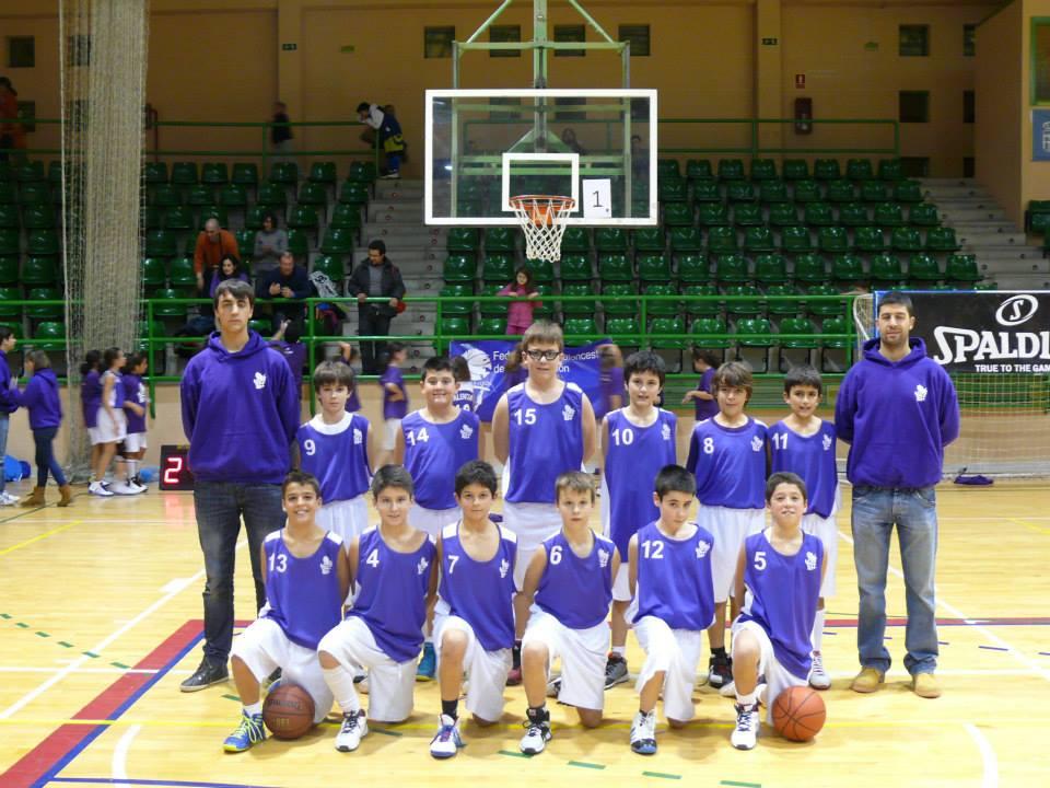 La selección masculina de Palencia en Segovia. Foto FBCYL