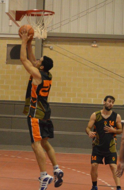 Eldana, a la final de Copa BasketVall. Foto Eldana CB