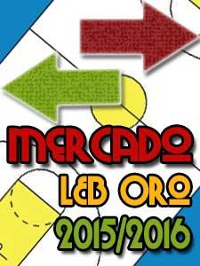 Mercado LEB Oro 2015/2016