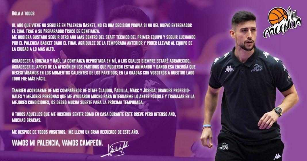 Carta despedida Félix A. de Fuentes
